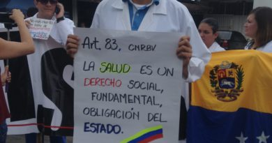 """""""Pacientes Somos Todos"""" plantón por la salud en el estado Táchira"""