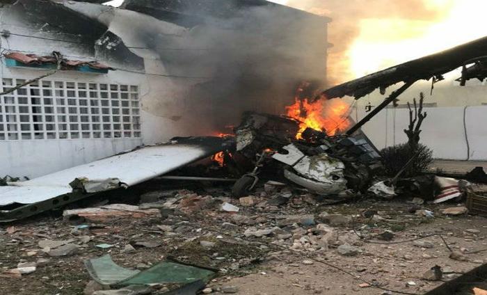 Muere empresario del sur de  Venezuela al caer avioneta sobre su vivienda