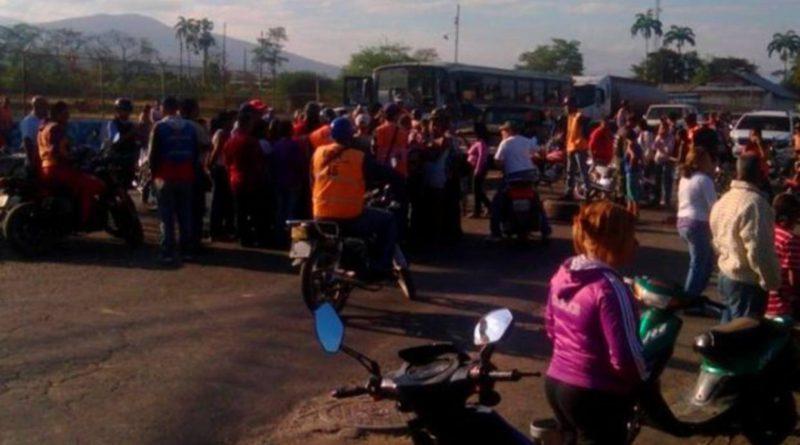 EL HAMBRE: POR la caja de alimentos CLAP se presentan protestas y heridos