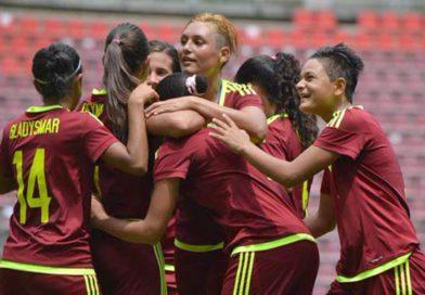 A PUNTO DE HACER HISTORIA equipo Vinotinto femenino definen clasificación