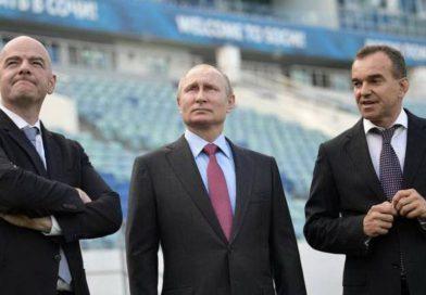 TODO LISTO PARA EL MUNDIAL asegura presidente Putín desde Moscú