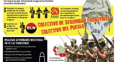 UN NUEVO GRUPO GUERRILLERO CONTROLA FRONTERA DE VENEZUELA