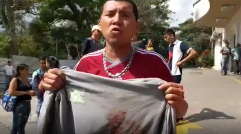 TESTIGO DEL ATAQUE MARCHISTAS DEL 23E NARRA QUIENES FUERON LOS ASESINOS
