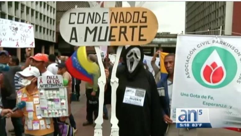 NECESITAN AYUDA HUMANITARIA 7 MILLONES DE VENEZOLANOS
