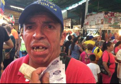 EN VENEZUELA SE JUEGAN LA SUERTE PARA TENER UN MERCADO COMPLETO EN CASA