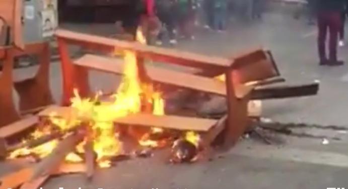 28 DÍAS DE DESTRUCCIÓN COMPLETA CHILE