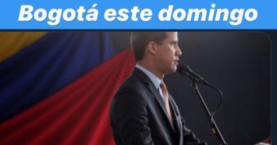 GUAIDÓ APARECE EN COLOMBIA CON AGENDA LISTA ESTE DOMINGO