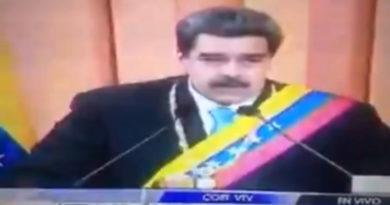 """""""HAY COSAS QUE ESTÁN MAL Y NO ES POR CULPA DE DONALD TRUMP"""": MADURO BAJA EL TONO CONTRA EL IMPERIO"""