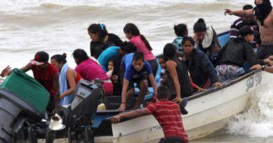 DEPORTADOS HOY DE TRINIDAD Y TOBAGO 66 VENEZOLANOS, ENTRE ELLOS 22 NIÑOS