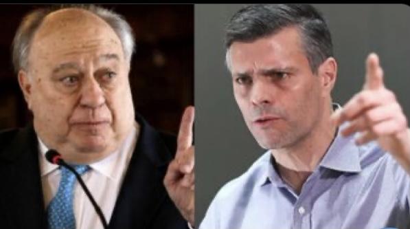 ANUNCIA LEOPOLDO LÓPEZ DEMANDAR A EX EMBAJADOR CALDERÓN BERTI